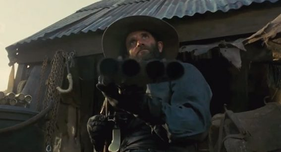 A film firearms pro assesses Utu's quad shotgun