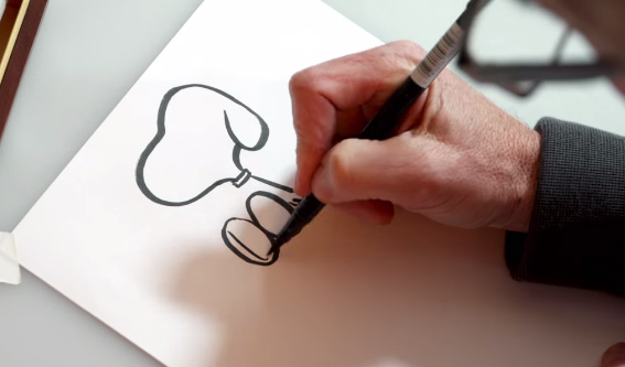 'Peanuts Movie' Director Shows You How to Draw Snoopy in a Minute. (We Tried It.)