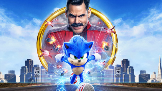 Win a double pass to Sonic the Hedgehog