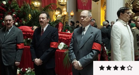 The Death of Stalin review: a ripe setting for a truly killer cast