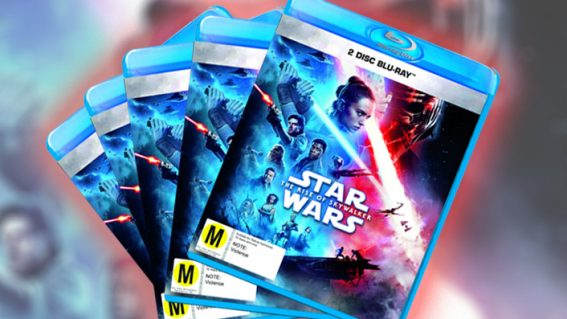 Win Star Wars: The Rise of Skywalker on Blu-ray