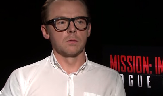 Simon Pegg is Given a Minute to List All 6 'Star Wars' Films from Worst to Best