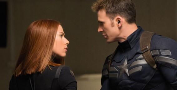 Interview: 'Captain America: The Winter Soldier' stars Chris Evans and Scarlett Johansson