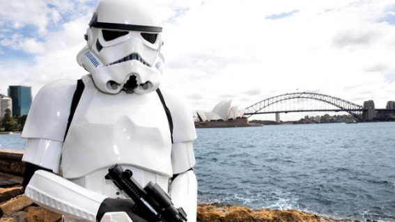 Find out what Stormtroopers do on the weekend at 'Stormtrooper Sunday'