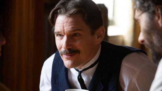Ethan Hawke is electric in Tesla, an experimental biopic that strikes sparks