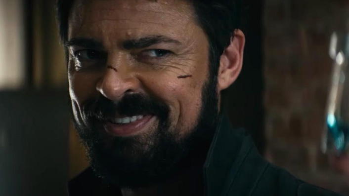 Karl Urban in The Boys as Billy Butcher
