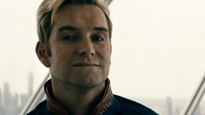 Antony Starr in The Boys as Homelander