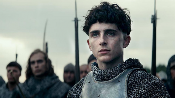 Timothée Chalamet smoulders in Netflix's dynamite The King