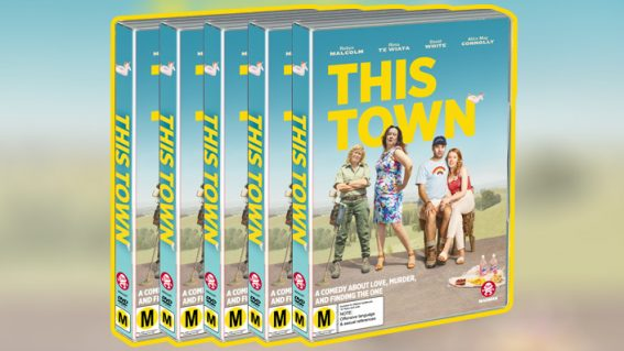 Win a copy of Kiwi crime rom-com This Town