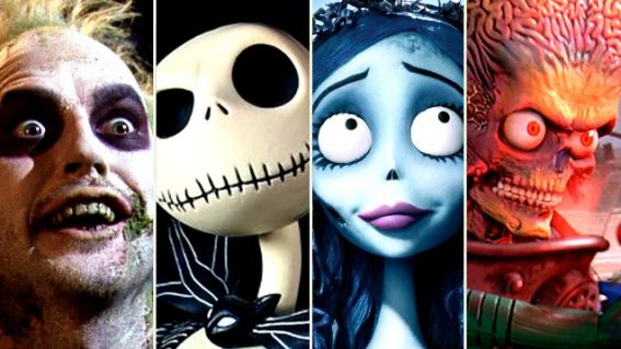 The phantasmagoric career of Tim Burton, the mop-headed master of the macabre