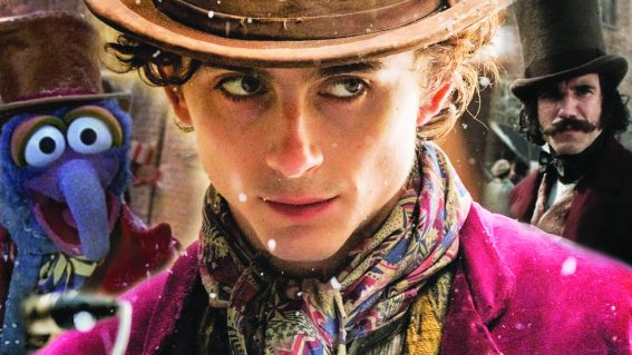 We don't know how to feel about Timothée Chalamet as a young Willy Wonka