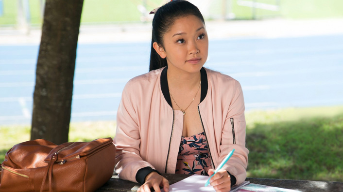 Lana Condor in To All The Boys I Loved Before