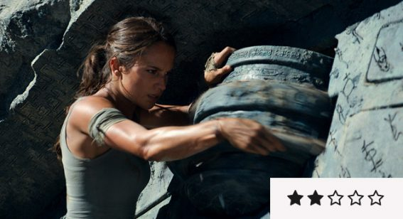 Tomb Raider review: doesn't zap any new life into video game adaptations