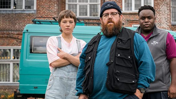 Truth Seekers smacks of the winning Nick Frost and Simon Pegg formula