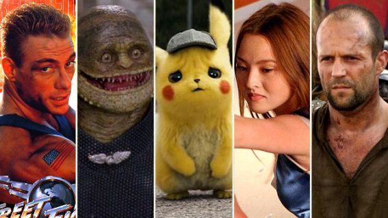 The weirdest video game movies ever made, from Detective Pikachu to Super Mario Bros