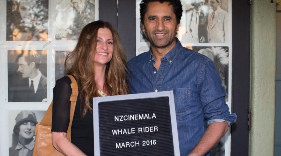 Cliff Curtis and Niki Caro High-5 Each Other at Special 'Whale Rider' Screening in LA