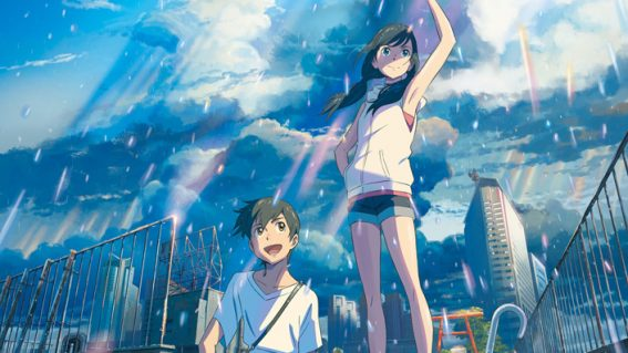 NZ cinemas to play the latest film from the director of Your Name