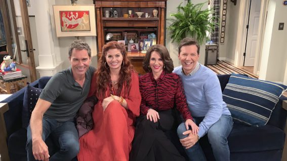 Last drinks: the Will and Grace finale has arrived on Stan